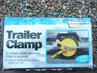 Trailer Wheel Clanp