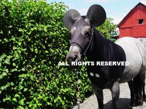 Horse Sleazy Hood LARGE MICKEY MOUSE HORSE SLEAZY COSTUME  *L