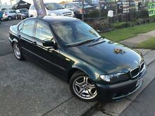 2004 BMW 318I E46 Sport Oxford Green 5 Speed Auto Steptronic Sedan Southport Gold Coast City Preview