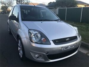 2006 Ford Fiesta WQ Zetec Silver 4 Speed Automatic Hatchback Chester Hill Bankstown Area Preview