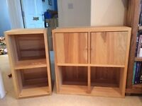 Storage Cabinets (Birch - IKEA Traby)