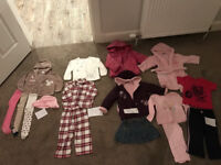 Girls Christmas bundle 9-12 months, 12-18, 18-24 months (16 items) Next, Peppa Pig, White Co, JoJo