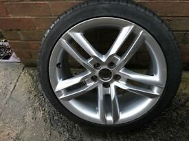 "Audi A1 17"" S-Line wheel with BRAND NEW 215/40/17 tyre"