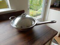 Large Stainless Steel Cooking pan/Wok
