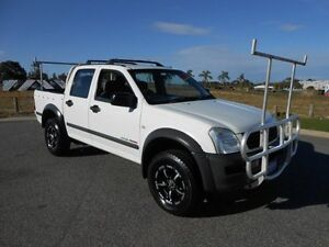 2005 Holden Rodeo RA MY05.5 Upgrade LT (4x4) White 4 Speed Automatic Crew Cab P/Up Wangara Wanneroo Area Preview