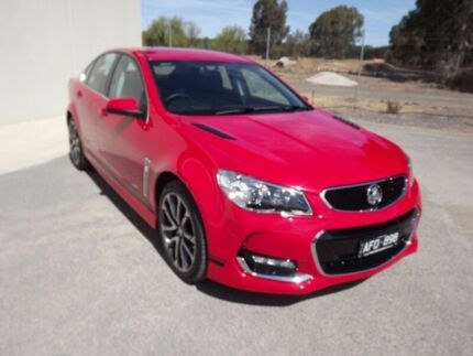 2015 Holden Commodore VF II MY16 SS V Red 6 Speed Sports Automatic Sedan