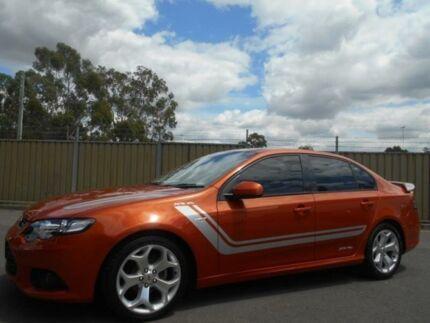 2012 Ford Falcon FG MK2 XR6 Orange 6 Speed Auto Seq Sportshift Sedan Blacktown Blacktown Area Preview