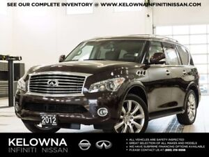 2012 Infiniti QX56 Technology Package 7 Passenger