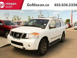 2015 Nissan Armada RESERVE: NAVIGATION, CAPTAINS CHAIRS, SUNROOF