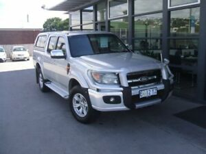 2010 Ford Ranger PK XLT Crew Cab Silver 5 Speed Manual Utility