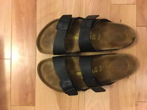 Arizona Men's Sandals - BLK Sz 44 (11)