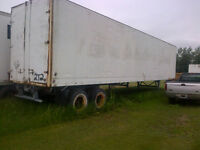 48 ft storage trailer good and dry
