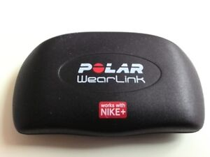 Polar WearLink transmitter works with Nike+