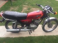 1987 Yamaha RX-S100 Motorbike For Sale - CBT Ready - Black and Red