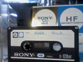 SONY HF 120 A-B ISSUE 1975 NORMAL CASSETTE TAPES. RARE.