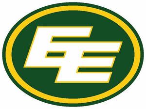 Edmonton Eskimos - Groups - Hard Copy - First Row Eskimo Bench