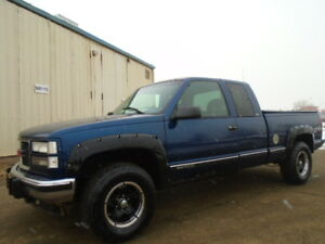 1998 GMC C/K 1500HD-4X4-6.5L V8 TURBO DIESEL -DRIVES GREAT