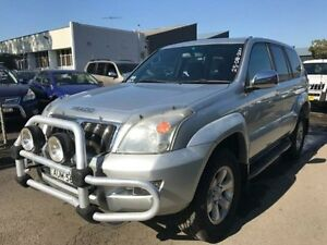 2005 Toyota Landcruiser HDJ100R GXL (4x4) Silver 5 Speed Automatic Wagon Revesby Bankstown Area Preview