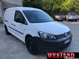2011 Volkswagen Caddy 2KN White Manual Van Lisarow Gosford Area Preview