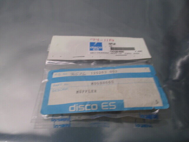 3 Disco MOGBH665 Muffler, 102230