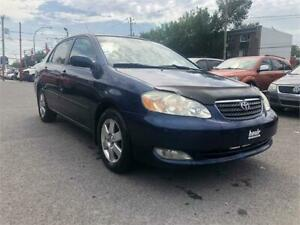 2007 TOYOTA COROLLE LE TOUTE EQUIPE EXTRA PROPRE