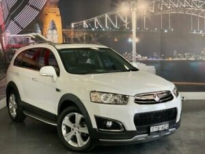 2014 Holden Captiva CG MY14 7 AWD LTZ White 6 Speed Sports Automatic Wagon Prospect Blacktown Area Preview