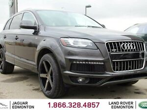2015 Audi Q7 3.0T quattro Sport S-Line - Local Alberta Trade In