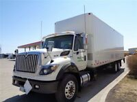 2010 International 7600 6x4, Used Reefer Van