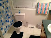 Furnished room with private washroom in perfect location!!!