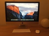 Apple iMac Retina 5k 27 Inch late 2015 3.2GHz Intel Core i5 8GB Ram 1TB Storage