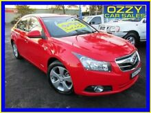 2010 Holden Cruze JG CDX Red 5 Speed Manual Sedan Minto Campbelltown Area Preview