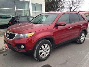 2012 Kia Sorento LX AUTO 4CLY LOADED LOWKMS 1 OWNER CERTEFIED$11