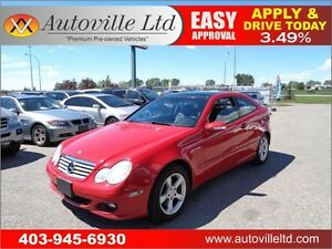 2006 Mercedes-Benz C230 COUPE 2.5L Sport 90 DAY NO PAYMENTS