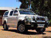2012 Toyota Hilux GGN25R MY12 SR5 Double Cab White 5 Speed Automatic Utility Kalamunda Kalamunda Area Preview