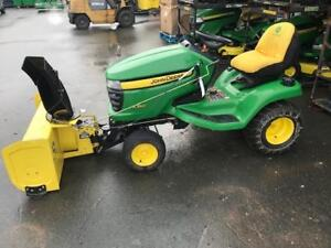 2008 X360 LAWN TRACTOR WITH SNOW BLOWER