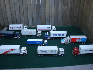 Die cast metal Collective semi truck toys