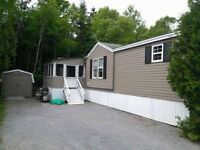 **NEW ROOF** Mini-Home 2 bed-2 bath Quispamsis -Incl. Appliances