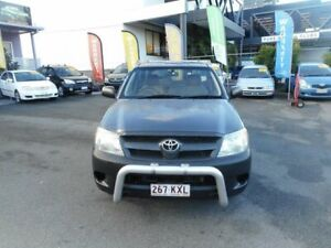 2008 Toyota Hilux TGN16R 07 Upgrade Workmate Grey 5 Speed Manual Cab Chassis Coorparoo Brisbane South East Preview
