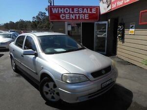 2002 Holden Astra TS CD Silver 5 Speed Manual Sedan Edgeworth Lake Macquarie Area Preview