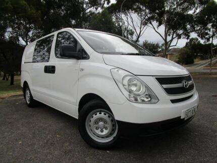 2012 Hyundai iLOAD TQ2-V MY12 Crew Cab White 5 Speed Automatic Van Old Reynella Morphett Vale Area Preview