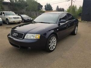 2002 Audi A6 2.7T AWD, No Accidents, ONLY 108416 km