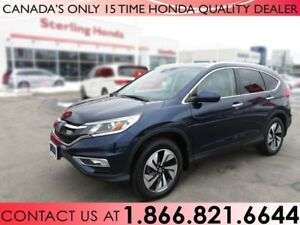 2015 Honda CR-V TOURING   AWD   ALL WEATHER MATS   1 OWNER   NO