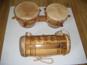 Bongo drums for sale  Handmade