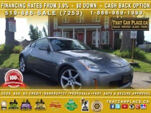 2004 Nissan 350Z TOURING-Htd Lthr Sts-Pwr Wdws/Drs/Mrrs-Cruise-V