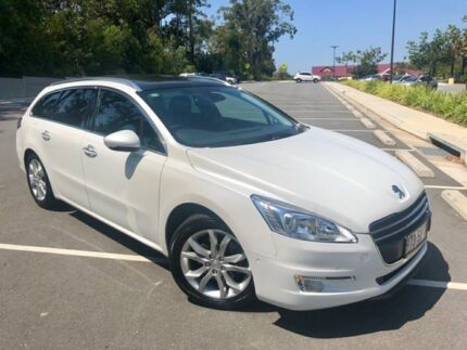 2012 Peugeot 508 Allure HDI Touring White 6 Speed Automatic Wagon Southport Gold Coast City Preview