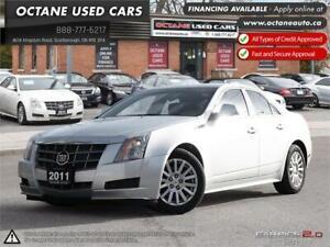2011 Cadillac CTS Sedan Leather ONTARIO VEHICLE! SERVICE RECORDS