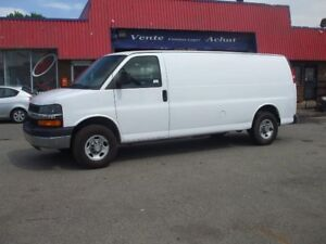"Chevrolet Express Cargo Van RWD 3500 155"" ALLONGÉ 2008"