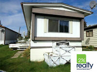 Penhold Mobile -Low Lot Fee–  Presented By 2% Realty Red Deer