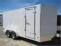 STEALTH TRAILERS *** 7X16 +3' Wedge *** Extra Height Ceiling !!!
