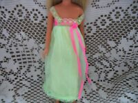 "1971 SKIPPER DOLL ""LULLABY LIME"" PEIGNOIR NIGHTIE #3473"